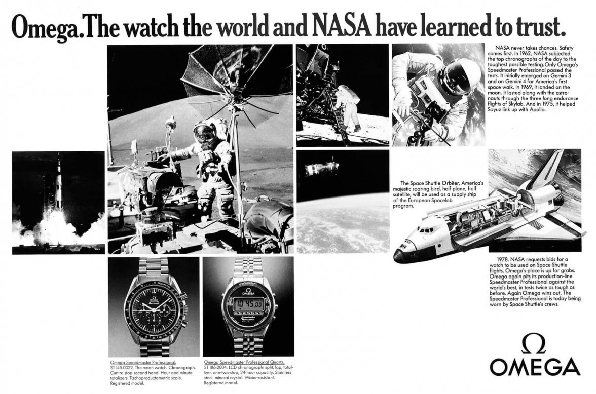 Original Omega Advertisement